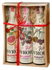 Fruit syrups Kitl gift box