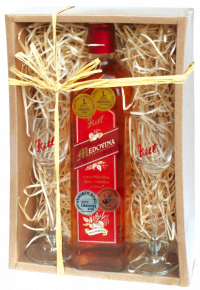 Kitl Mead gift box + two glasses