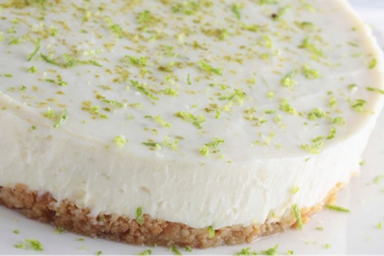 Lime and Kitl Mint syrup cake