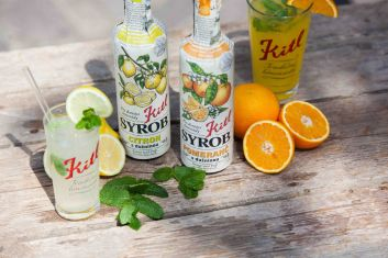 New Kitl products for summer 2020 are Orange and Lemon syrups!