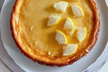 Lemon cheesecake Kitl