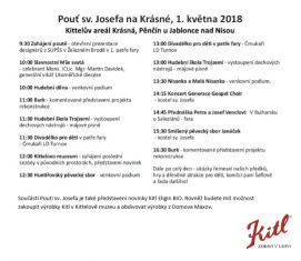 Kittelova pouť sv. Josefa - program