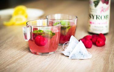 Ledový čaj s Kitl Syrob Malinový